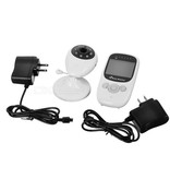 Geeek HD Wireless Baby Monitor Baby Monitor with Temperature