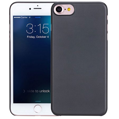 Geeek iPhone 7 / iPhone 8 Ultra Thin Case Case Cover Black 0.3mm