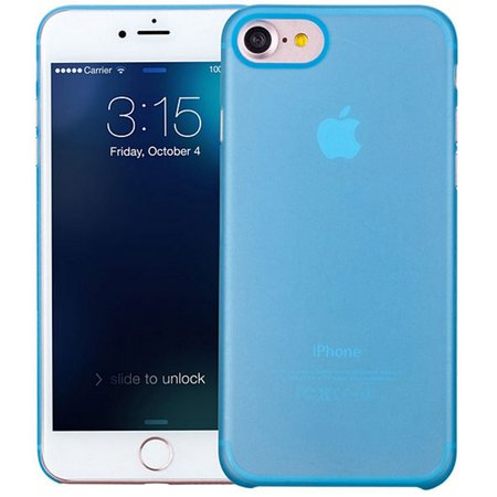 Geeek iPhone 7 / iPhone 8 Ultra Thin Case Case Cover Blue 0.3mm