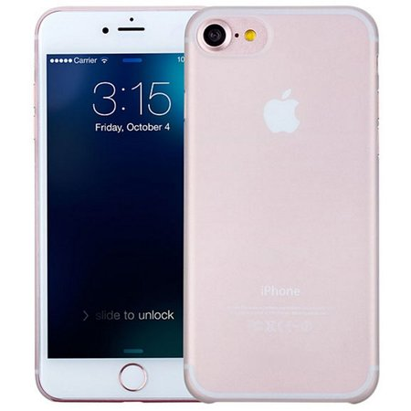 Geeek iPhone 7 / iPhone 8 Ultra Dun Hoesje Case Cover Transparant 0.3mm