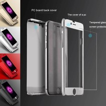 iPhone 7 Plus /iPhone 8 Plus Full Body 360 Super Thin Case Cover Hoesje