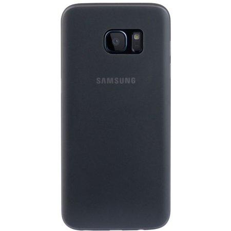 Geeek Samsung S7 Edge Ultra Dun Hoesje Case Cover Zwart 0.3mm