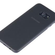 Samsung S7 Edge Ultra Dun Hoesje Case Cover Zwart 0.3mm