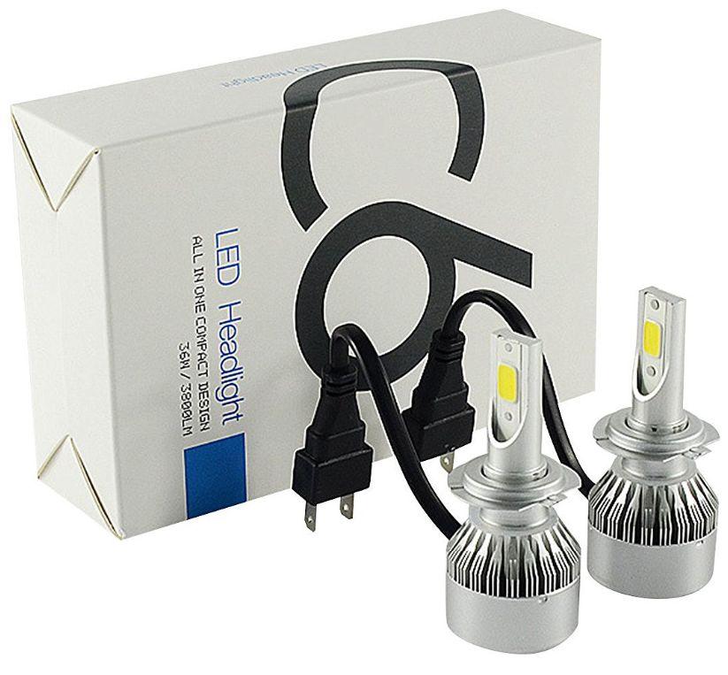 Led lamp headlight koplamp xenon h7 set 6000kled lamp headlight koplamp xenon h7 set 6000k