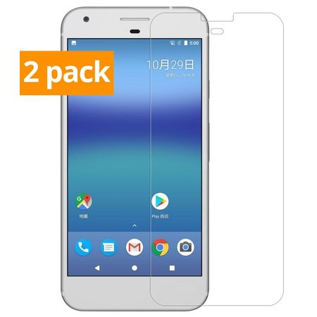 Geeek Strong Tempered Glass Tempered Glass Screen Protector Google Pixel (2 Pack)