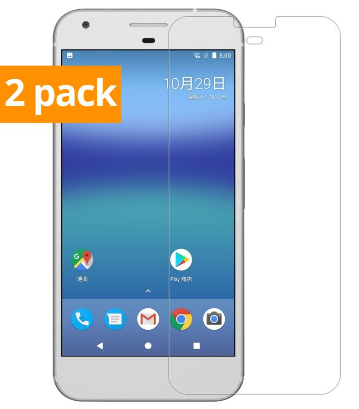 best authentic 5b848 3fb67 Geeek Strong Tempered Glass Tempered Glass Screen Protector Google Pixel (2  Pack)