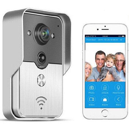 Geeek WiFi drahtlose Türklingel HD-Kamera