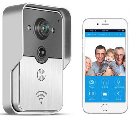 Deurbel Voor Iphone.Wifi Draadloze Deurbel Hd Camera Online Shop Geeektech Com Gadgets