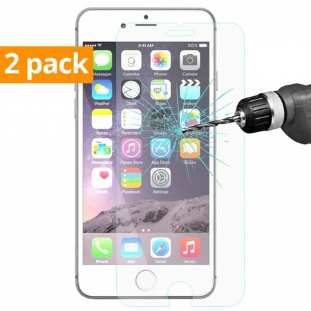 Geeek Schutzfolie aus gehärtetem 0,3mm Panzerglas für iPhone 6 Plus