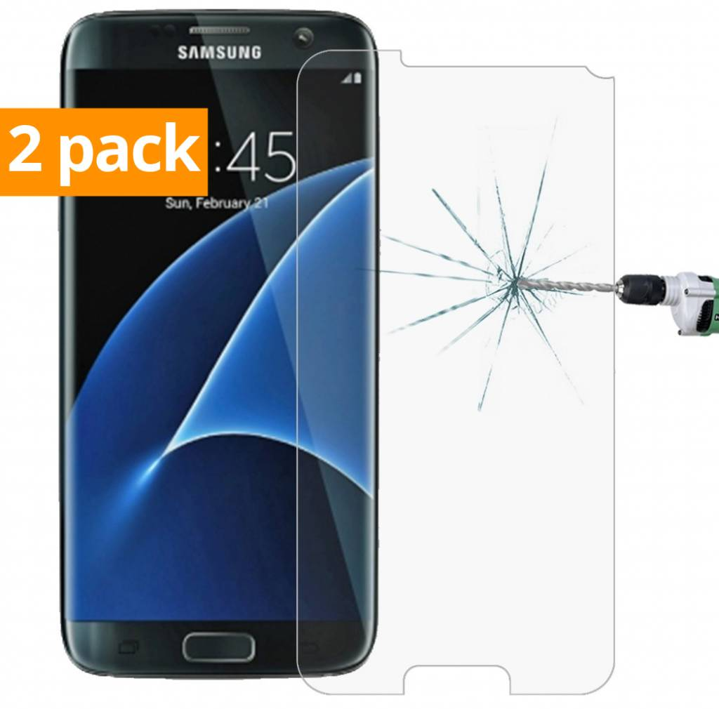competitive price 31605 e3fd5 Geeek Strong Tempered Glass Screen Protector Samsung Galaxy S7