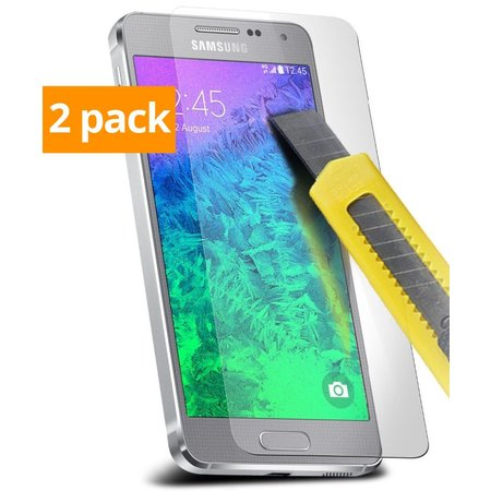 Geeek Sterke Tempered Gehard Glazen Glass Screenprotector Galaxy J3 (2 pack)