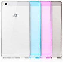 Ultra Dun Transparant Mat Hoesje Case Cover Huawei P8