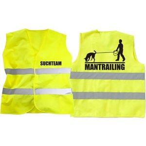 Warnweste Mantrailing Logo