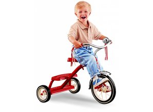 Radio Flyer Classic Red Tricycle 12''