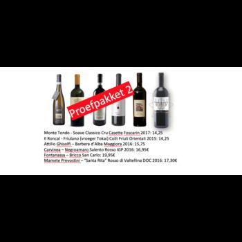 De Fijne Wijnshop Proefpakket einde 2020 nr 2