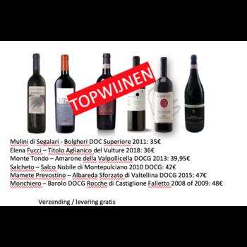 De Fijne Wijnshop Proefpakket einde 2020 nr 3 - topwijnen