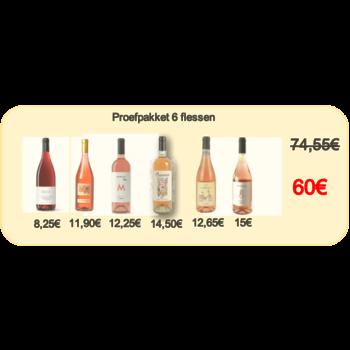 De Fijne Wijnshop 6 rosato