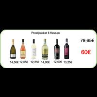 De Fijne Wijnshop Offre d'essai - 6 vins de printemps