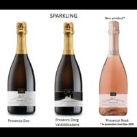Ruggeri & C. Proefpakket Prosecco 6 flessen