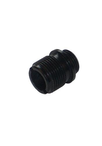 Airsoft Doctor Silencer adaptor voor handgun