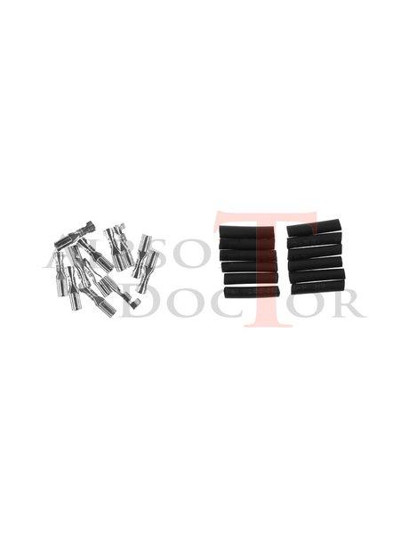 King Arms Motor Connector plugs - 6stuks