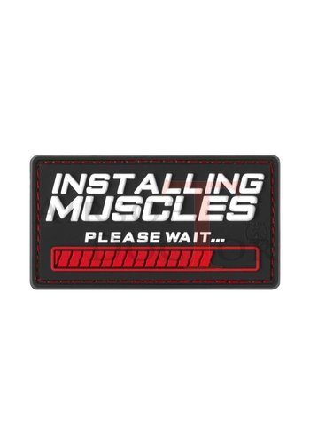 Installing Muscles Rubber Patch