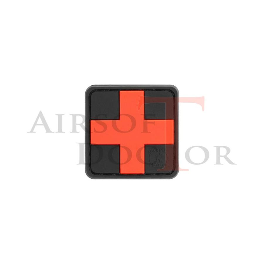 Red Cross Rubber Patch 25mm-1