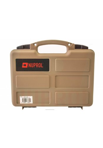 WEEU Nuprol Pistol Small Hard Case - Tan