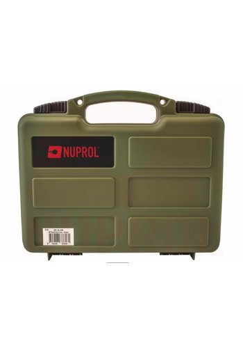WEEU Nuprol Pistol Small Hard Case - OD