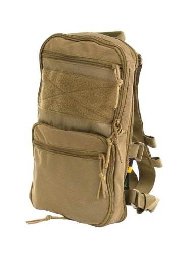 "101Inc. Backpack ""Flatpack"" - Tan"