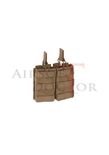 Claw Gear 5.56 Rapid Response Pouch Double - Tan