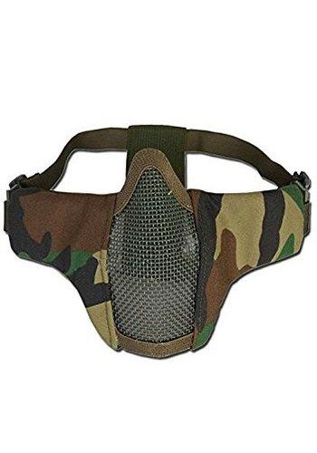 101Inc. Nylon / Mesh Face Mask - Woodland