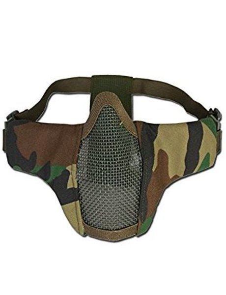 101Inc. Nylon / Mesh Face Mask - Woodland