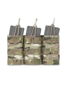 Warrior Assault Systems Triple Open Pouch M4 - Multicam