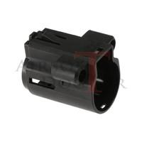 thumb-BEU Battery Extension Unit ARP9/ARP556 - Black-3