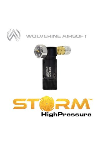 Wolverine Airsoft STORM high pressure regulator (black) without line