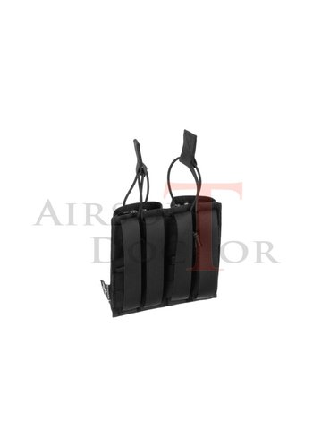 Invader Gear 5.56 Double Direct Action Gen II Mag Pouch - Black