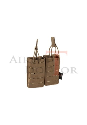 Invader Gear 5.56 Double Direct Action Gen II Mag Pouch - Coyote