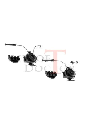 Z-Tactical Comtac Helmet Rail Adapter Set - Black