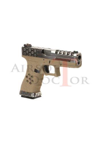 Armorer Works Custom VX0110 Hex-Cut Metal Version GBB