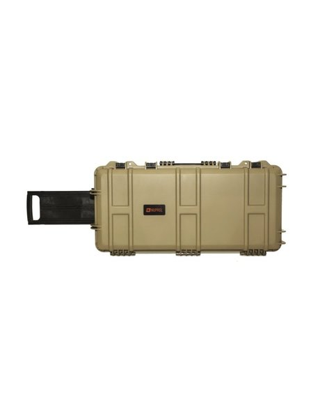 WEEU Nuprol Hard case SMG - Tan