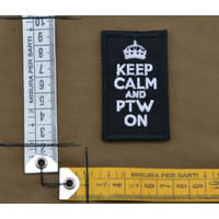 thumb-Patch - Keep calm and PTW on - Black-2