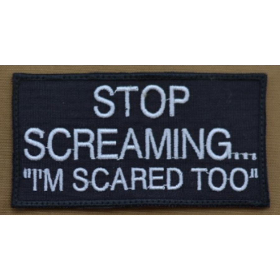 Patch - Stop Screaming-1
