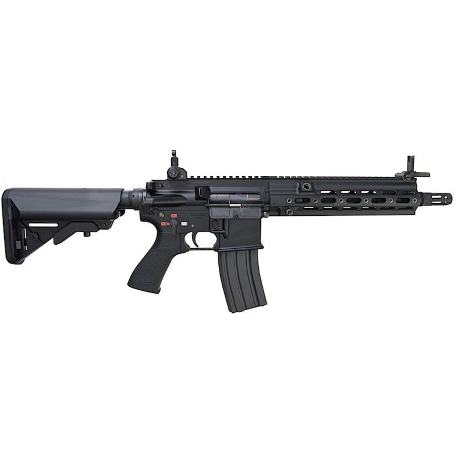 HK416 Delta Custom EBB Recoil Shock AEG - Black-2