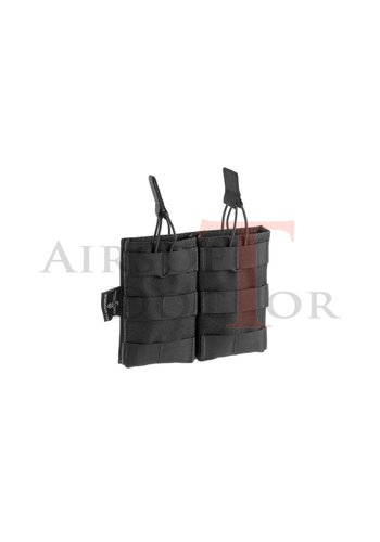 Invader Gear 5.56 Double Direct Action Mag Pouch - Black