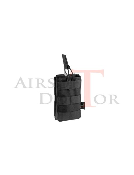 Invader Gear 5.56 Single Direct Action Mag Pouch - Black