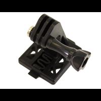 GoPro mount for Fast Helmet - Black