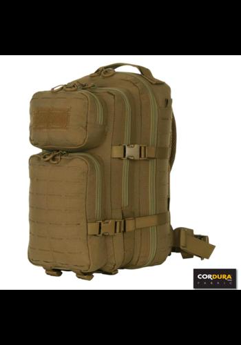 101Inc. Lasercut 1-day Assault Backpack - Tan