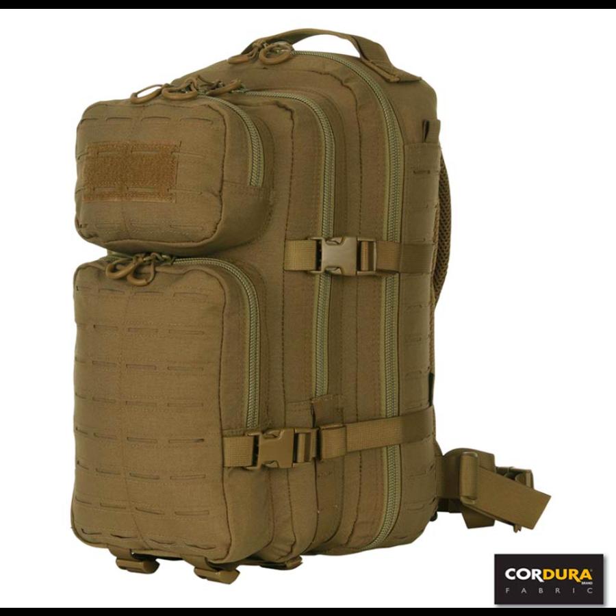 Lasercut 1-day Assault Backpack - Tan-1