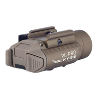 thumb-PL-PRO VALKYRIE Rechargeable Weaponlight - Tan-2